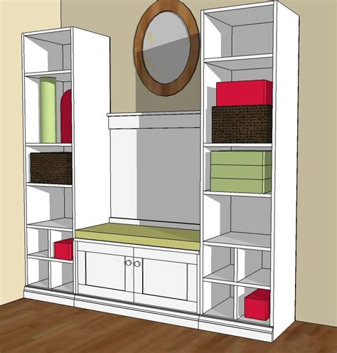 Mudroom Furniture Plans Free